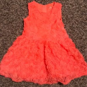 Hot pink Rose dress size 5T